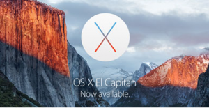 El Capitan Is Now Available